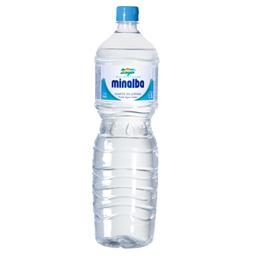 Leve 8 Und Água Mineral sem Gás Minalba 1,5 Litro