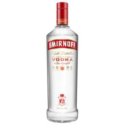 Leve 3 Und - Vodka Red Smirnoff 998ml