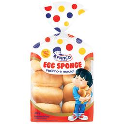 Pão Sponge Egg Panco 250g com 10 unidades