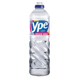 Leve 3 Und - Detergente Líquido Clear Ypê 500ml