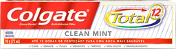 Leve 3 Creme Dental Colgate Total 12 Clean Mint 90g