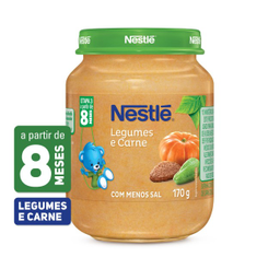 Leve 3 Und - Alimento Infantil Carne com Legumes Nestlé 170g