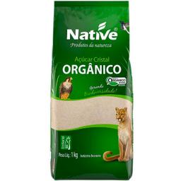 Leve 3 Und  Açúcar Orgânico Cristal Native 1kg