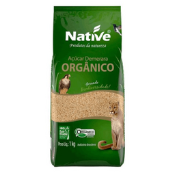 Leve 3 Und  Açúcar Orgânico Demerara Native 1kg