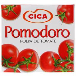 Leve 3 Und  Polpa de Tomate Pomodoro Cica 520g