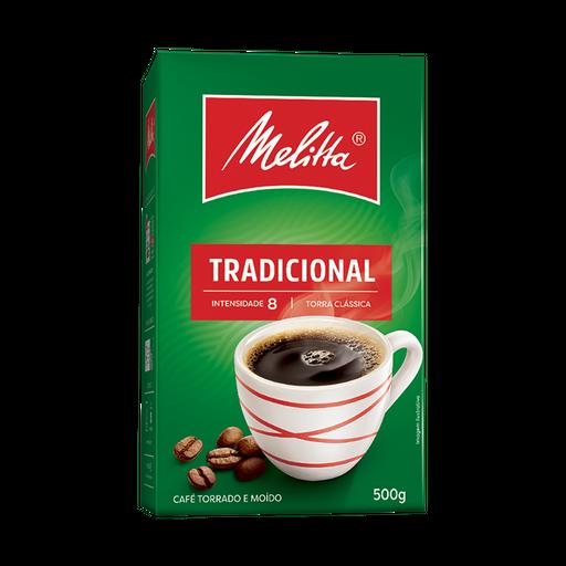 Café Tradicional a Vácuo Melitta 500g