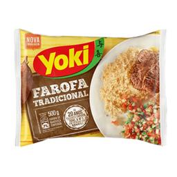 Farofa Pronta Temperada Yoki 500g