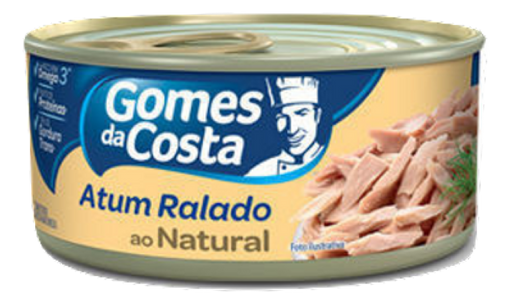 Gomes Da Costa Atum Ralado Natural Lata