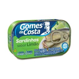 Leve 3 Und - Sardinha com Limão Gomes Da Costa 125g