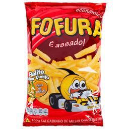Salgadinho Lucky Fofura 100G Queijo