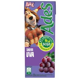Leve 6 Bebida de Soja sabor Uva Ades 200ml