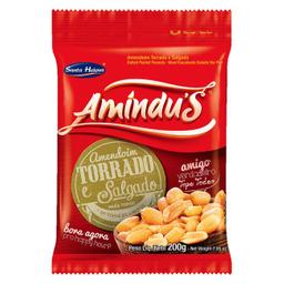 Leve 3 Und - Amendoim Sem Pele Nat Amindus Pacote 200g