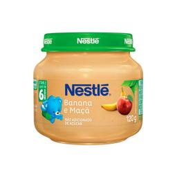 Leve 6 Alimento Infantil Banana e Maçã Nestlé 120g