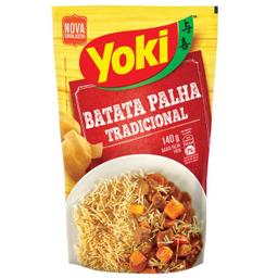 Leve 3 Und - Batata Palha Yoki 140g