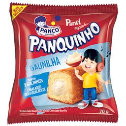 Leve 3 Und - Mini Bolo Sabor Baunilha Panquinho 70g c/ 2 Und