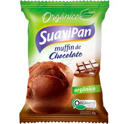 Leve 3 Und - Muffin Orgânico de Chocolate Suavipan 40g