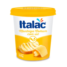 Manteiga Italac Pt 500G C/Sal