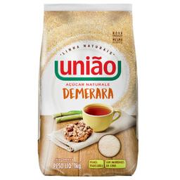 Leve 3 Und - Açúcar Demerara Naturale União 1kg