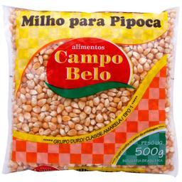 Leve 3 Und  Milho Pipoca Campo Belo Pct 500G