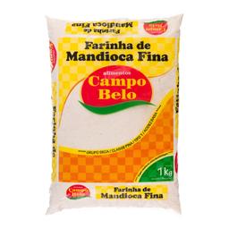 Campo Belo Farinha Mandioca Fina1kg