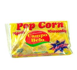 Leve 6 Milho Popcorn Campo Belo Pct 100G Manteiga