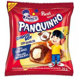 Leve 3 Und - Mini Bolo Panco Panfi 70G C/2 Chocoboy/Baunilha