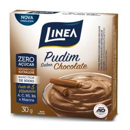 Leve 6 Pudim Zero de Chocolate Linea 30g