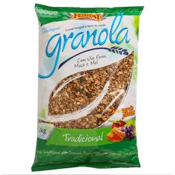 Leve 3 Und - Granola Tradicional Feinkost 1kg