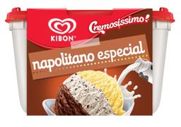 Leve 2 Und - Sorvete Cremosíssimo Napolitano Especial Kibon 2 Li