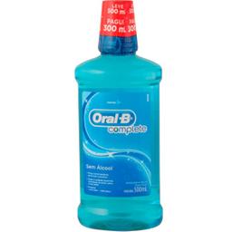 Leve 3 Und - Antisep Bucal Oral-B Comp L500 P300 Menta