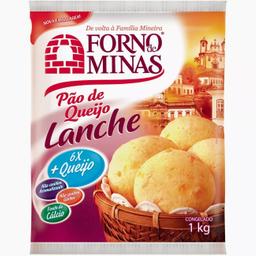 Leve 3 Und - Pão de Queijo Lanche Forno de Minas 1kg