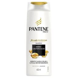 Leve 3 Und - Shampoo Hidrocauterização Pantene 400ml