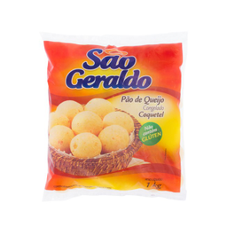 Pão de Queijo Coquete sem Glúten São Geraldo 1kg