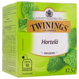 Leve 3 Chá Inglês de Hortelã Twinings 17,5g com 10 unidades