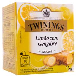 Leve 3 Und - Chá Importado Twinings Misto Limão Gengibre 14,5 g
