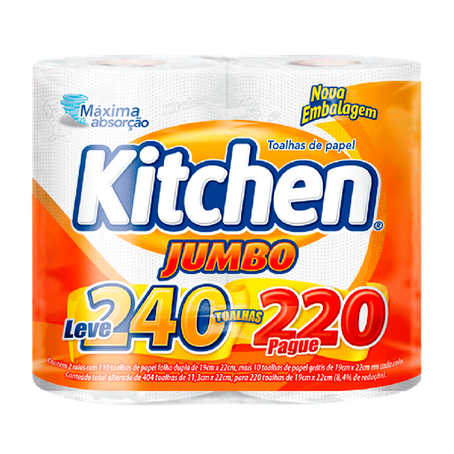 Kitchen Papel Toalha Jumbo