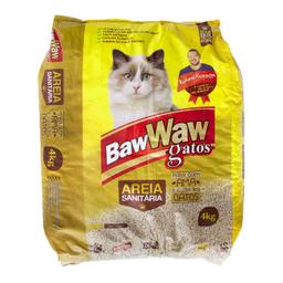 Leve 5 Und - Areia Sanitaria P/Gatos Baw Waw 4Kg