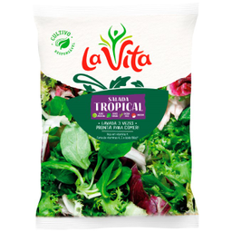 Salada Higienizada Tropical La Vita 200g