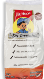 Goma Mandioca Tapioca Terrinha 1Kg