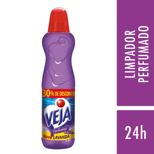 928727864 Limp Veja Perfumado 500Ml 30%Desc Lavanda em sua casa pela Rappi!