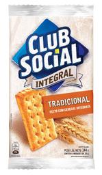 Leve 3 Und - Bisc. Salgado Integral Tradicional Club Social 144g
