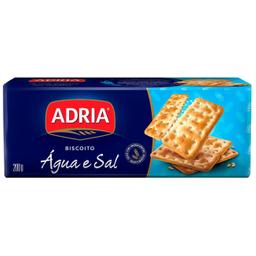 Biscoito Água e Sal Crackers Adria 200g