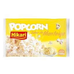Pipoca Micro Hikari 100G Manteiga