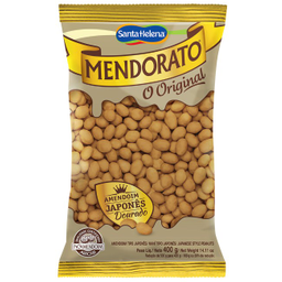 Leve 3 Und - Amendoim Japonês Mendorato Santa Helena 400g