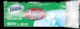 Saco De Lixo Embalixo Banheiro Branco De 8 L 50 Und