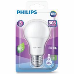 Lâmpada Led Philips 8W 60W 6500k