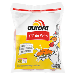 Leve 3 Und - File Peito Fgo Aurora Cong 1Kg
