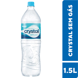Leve 3 Und - Água Mineral sem Gás Crystal Pet 1,5 Litro