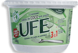 leve 3 und - Sabão em Pasta De Coco Ufe 500 g