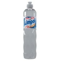 leve 3 Und - Detergente Líquido Limpol Cristal 500 mL